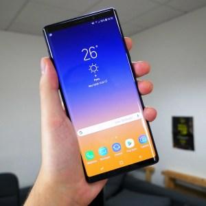 Samsung Galaxy Note 9 : Android 10 arrive, surveillez votre smartphone