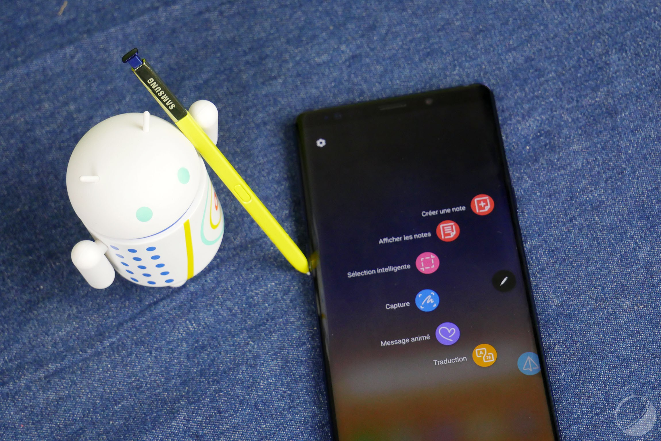 L'appareil photo dans le stylet S Pen : l'idée de Samsung pour éviter l'encoche sur les Galaxy Note