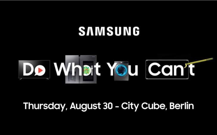 IFA 2018 : Samsung annonce une conférence le 30 aout