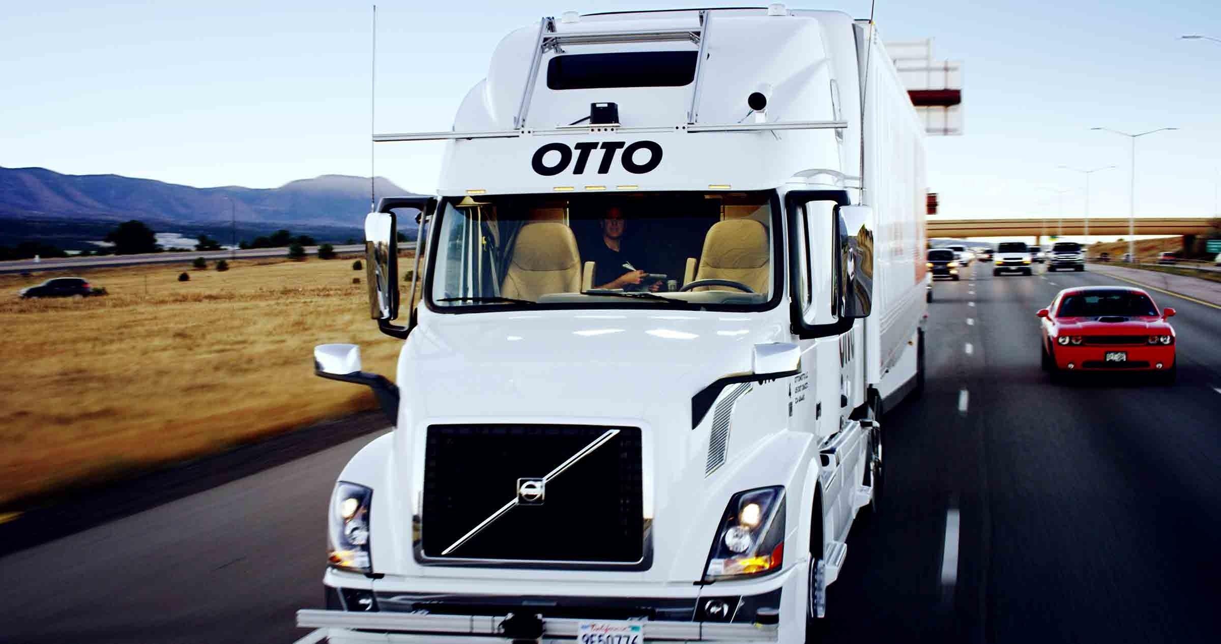 Uber : les camions autonomes, un projet qui s'envole