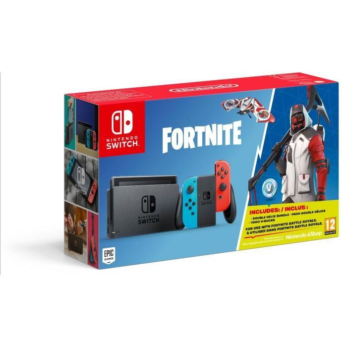 🔥 Bon plan : la Nintendo Switch «Fortnite Edition Limitée» en précommande à 275 euros