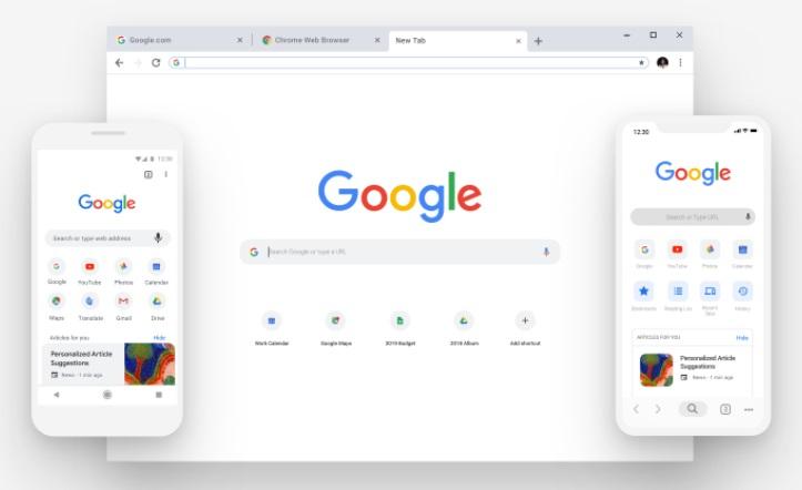 Google Chrome : voici la refonte complète de son design pour fêter ses 10 ans