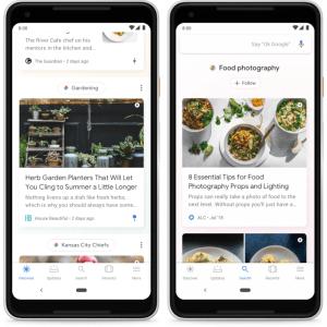 Google Feed se rebaptise Discover et permet de mieux contrôler les contenus suggérés
