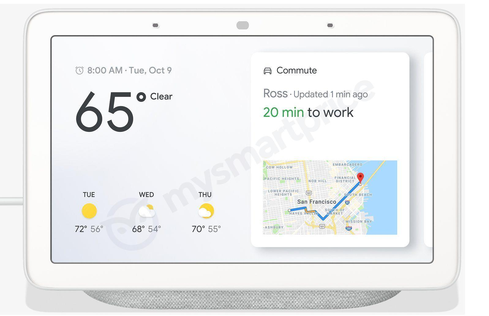 Google Home Hub : le Smart Display « made by Google » se dévoile en avance