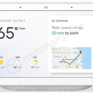 Google Home Hub : le Smart Display « made by Google » se dévoile en avance