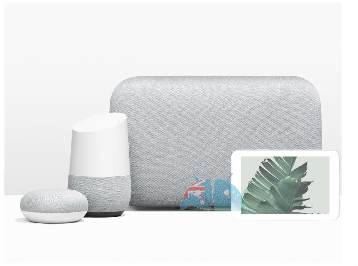Google Home Hub : un format plutôt compact d'après le leak d'un visuel