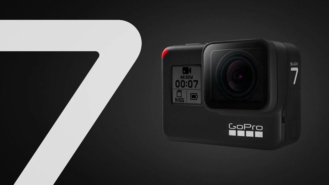 GoPro Hero 7 Black, Silver et White annoncées : stabilisation supérieure grâce à HyperSmooth
