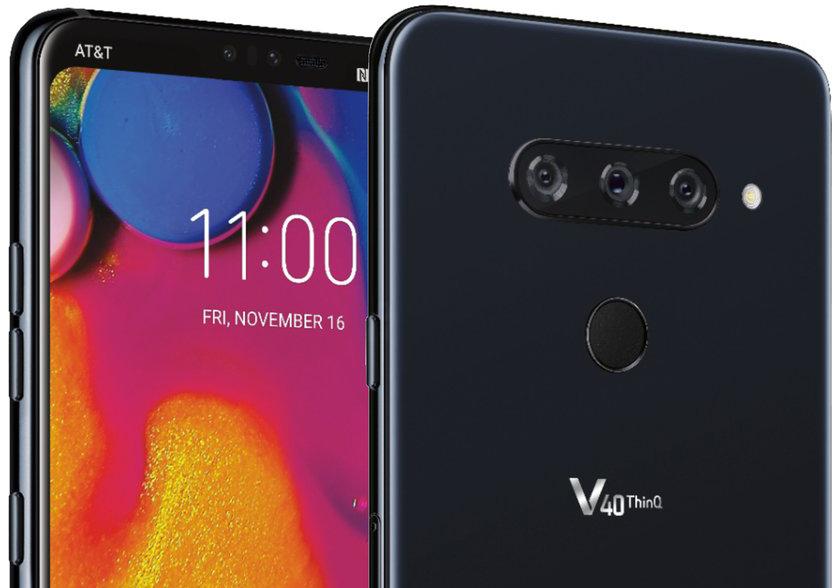 LG V40 ThinQ : encore et toujours ce bouton dédié à l'intelligence artificielle
