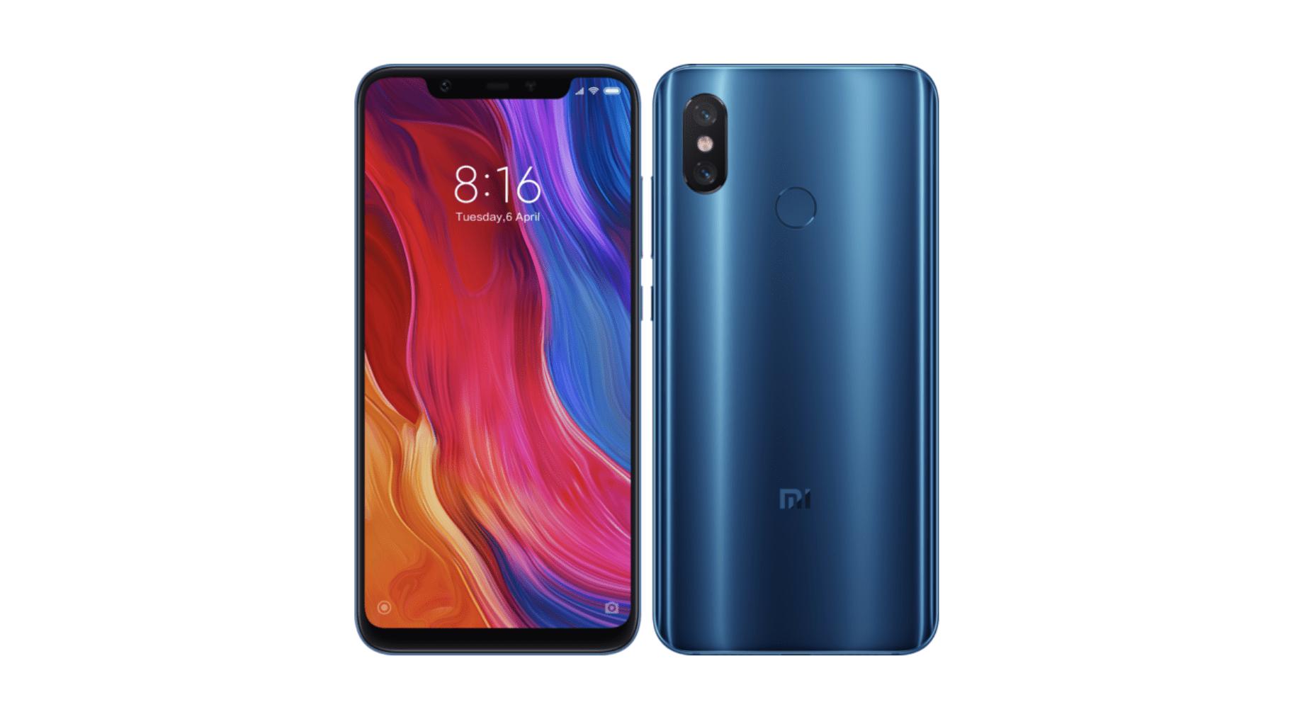 🔥 Bon plan : le Xiaomi Mi 8 à 345 euros au lieu de 499 euros