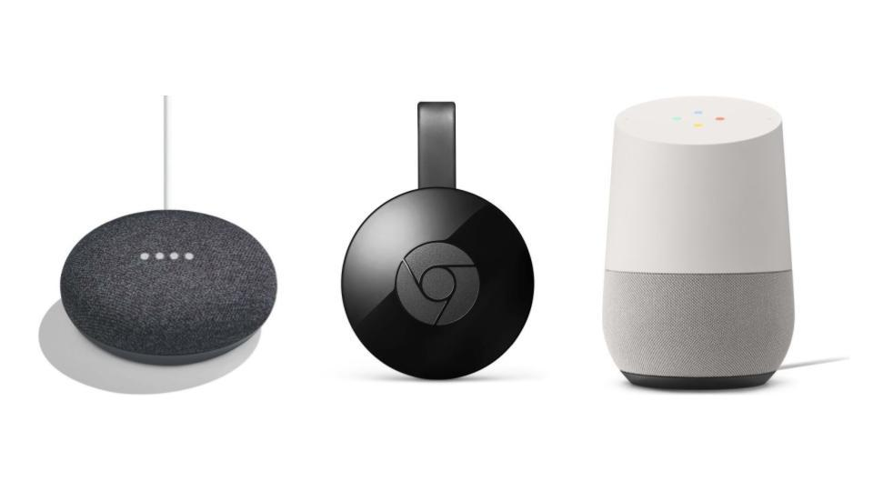 🔥 Bon plan : Google Home Mini à 49 euros, Google Home à 129 euros et Chromecast 2 à 34 euros