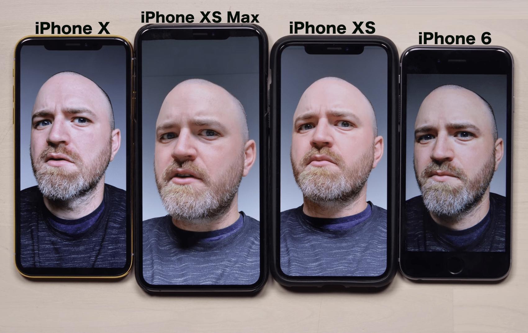 Apple impose un effet « beauté » sur les selfies de l'iPhone XS