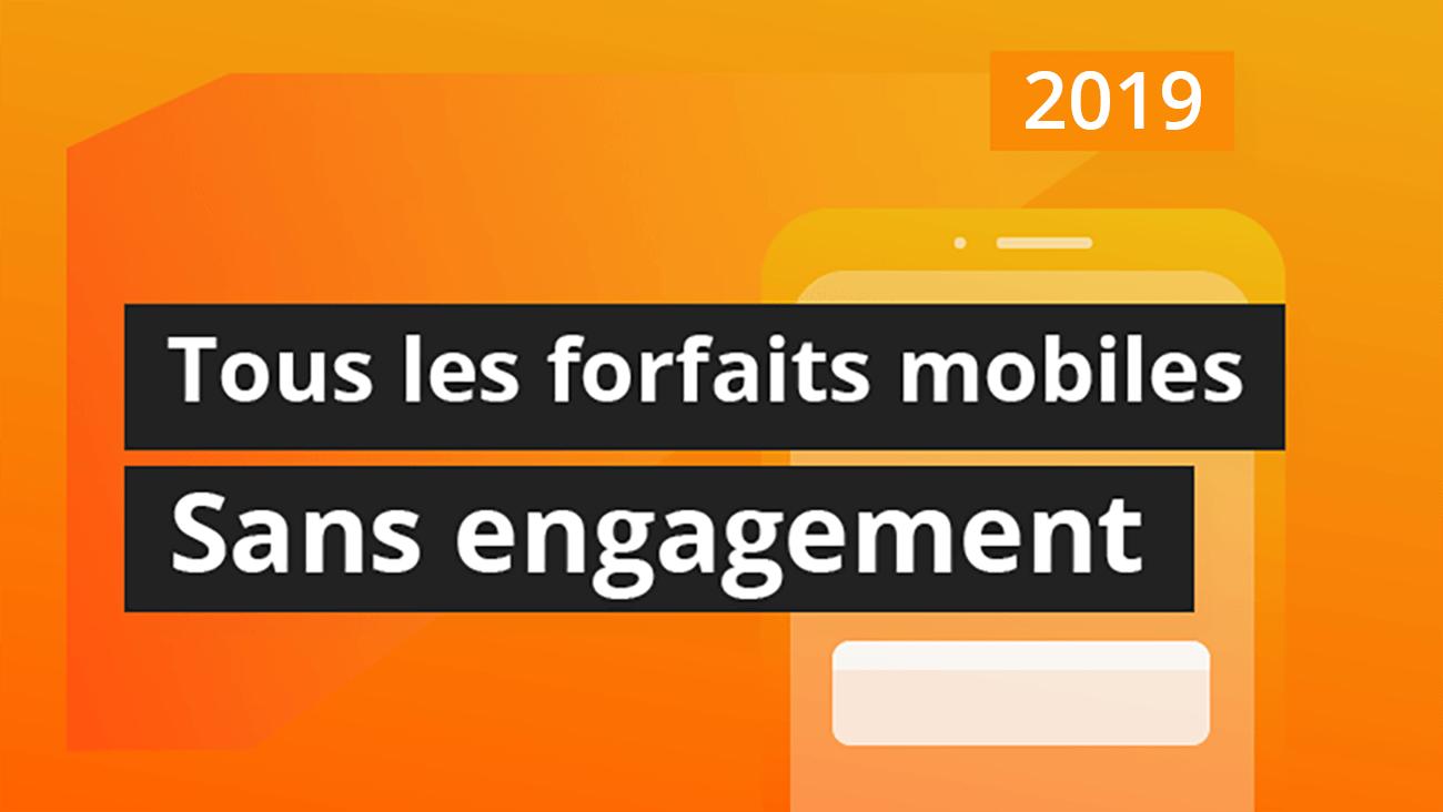 Sosh, Red, B&You et Free Mobile : les meilleurs forfaits sans engagement en 2020