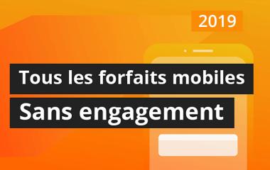 Sosh, Red, B&You et Free Mobile : les meilleurs forfaits sans engagement en 2019