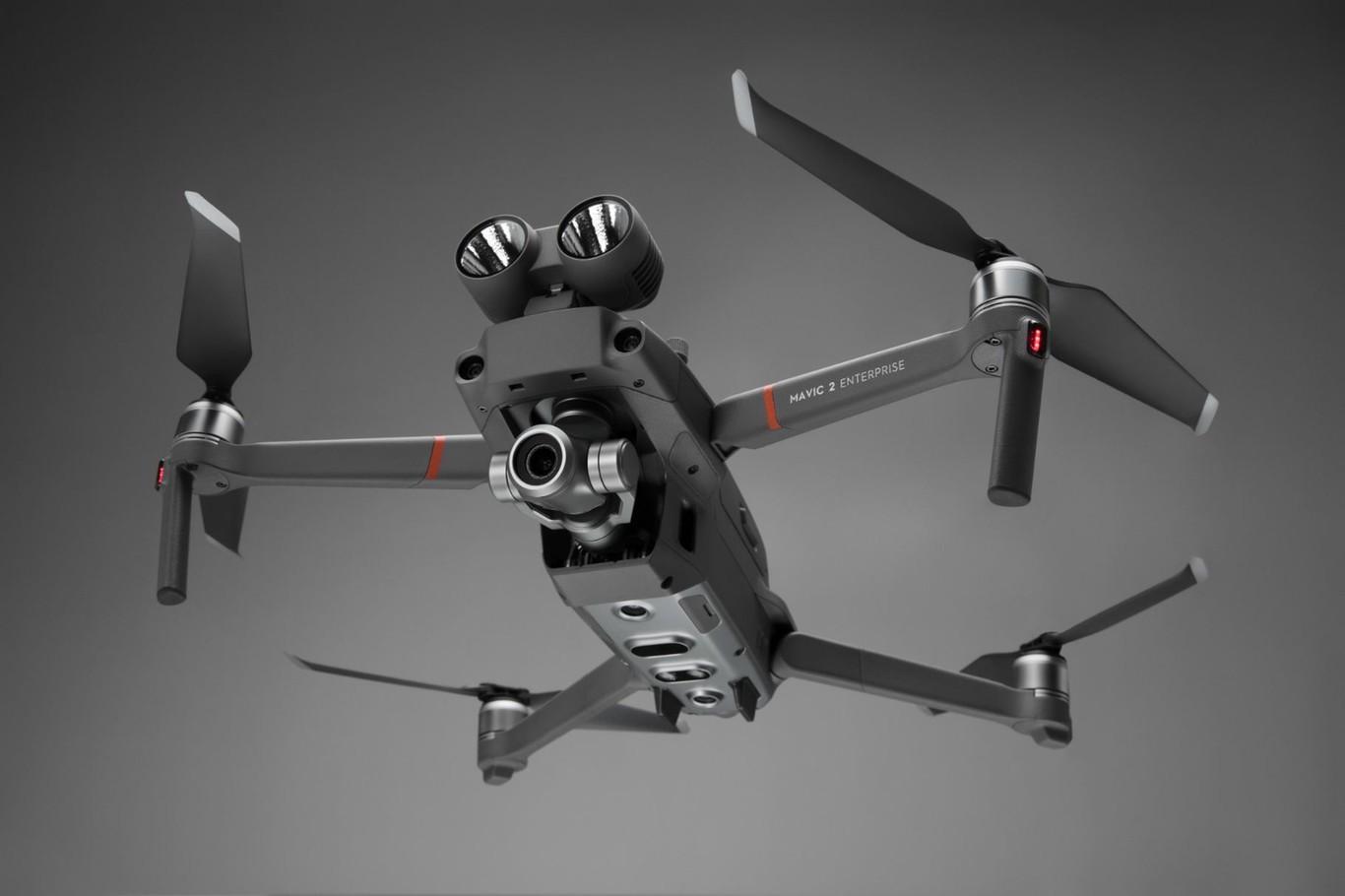 DJI Mavic 2 Enterprise : un drone doté de capacités de recherche et de sauvetage
