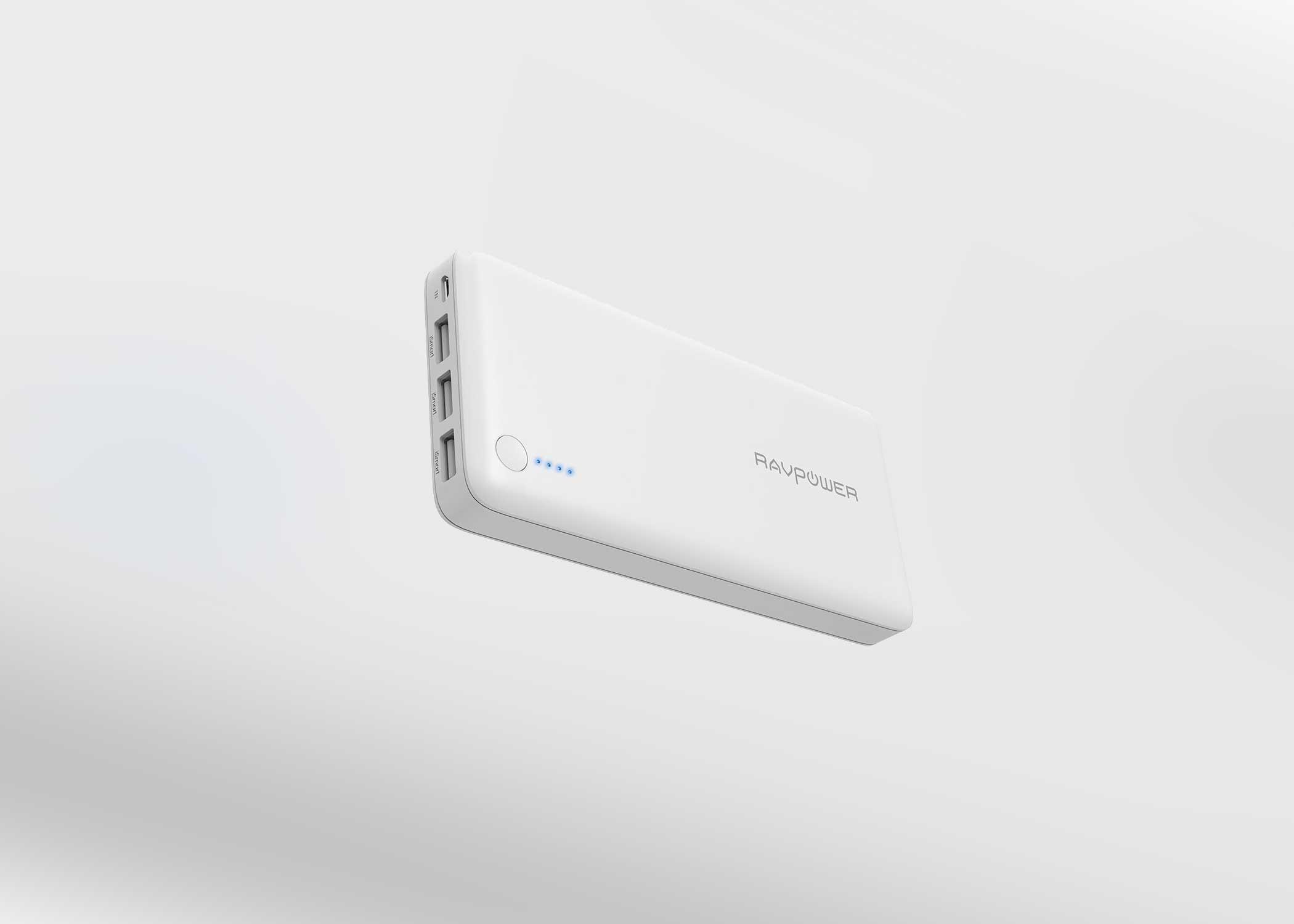 🔥 Bon plan : la batterie externe RAVPower de 26 800 mAh est à 33,99 euros sur Amazon