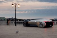 Renault EZ-ULTIMO : un salon luxueux sur roue pour une voiture autonome ultra futuriste