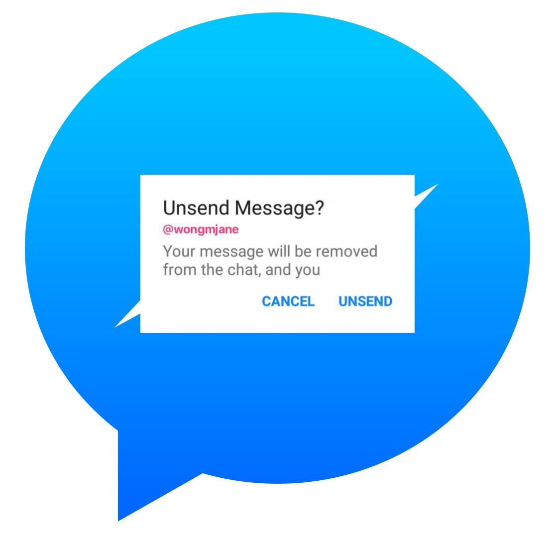 Facebook Messenger : supprimer un message envoyé devrait bientôt être possible