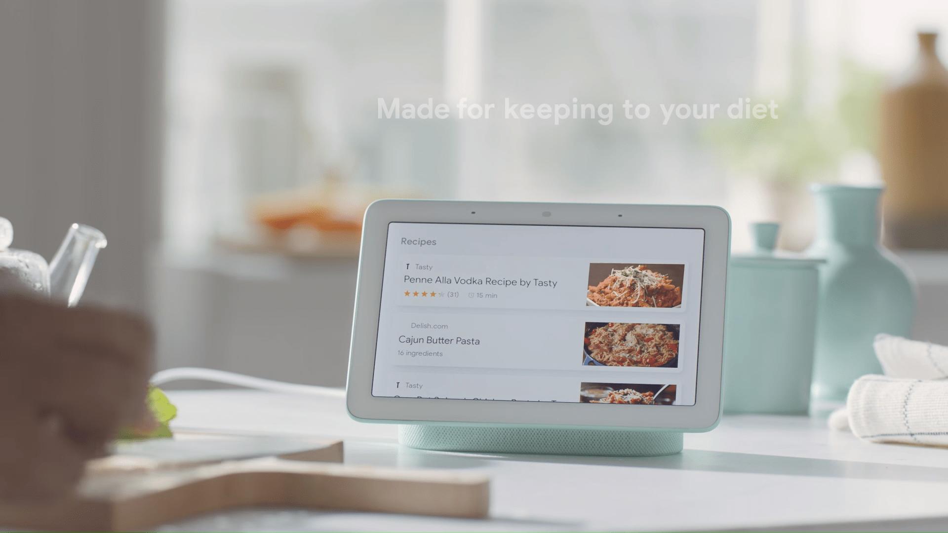 Le Google Home Hub est un appareil de test pour Fuchsia