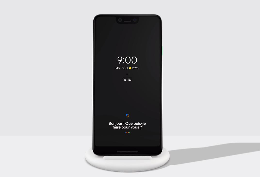La recharge sans fil arrive enfin sur les Google Pixel 3 avec le Pixel Stand