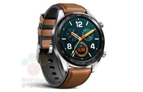La Huawei Watch GT disposerait d'une autonomie remarquable et d'un processeur dernier cri