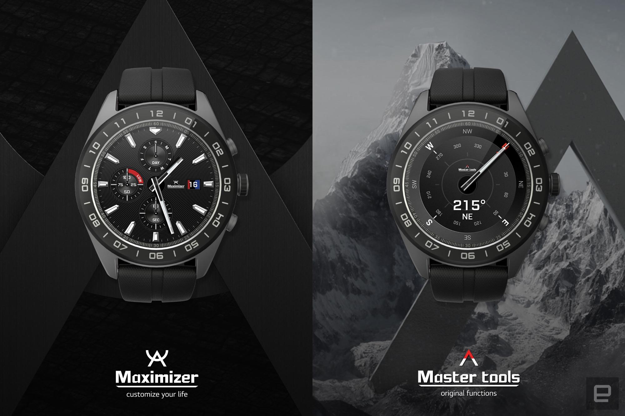 LG Watch W7 : la nouvelle montre hybride au concept… déroutant