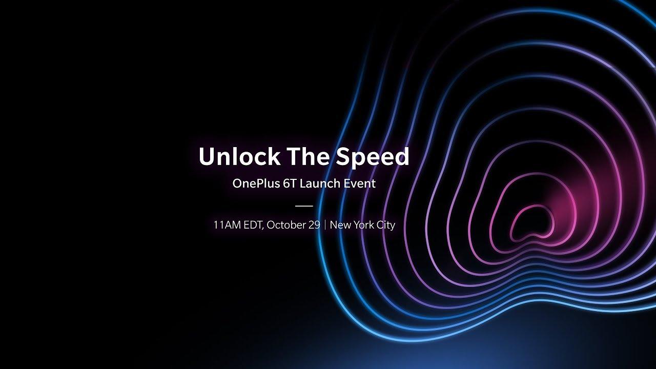 OnePlus 6T : comment suivre la conférence en direct