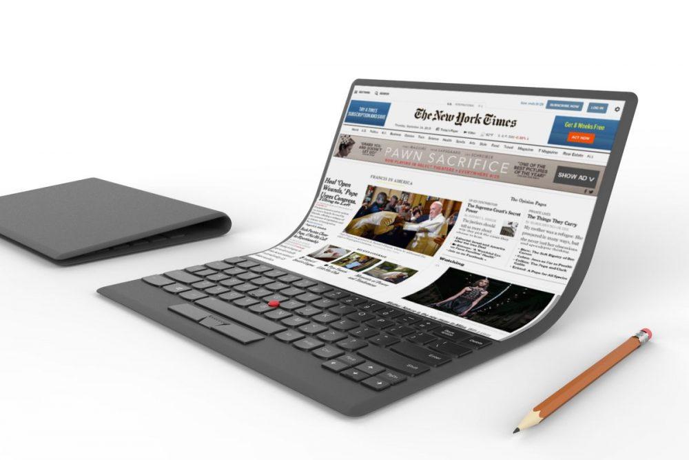 Après le smartphone flexible, Samsung travaille aussi sur un ordinateur portable à écran pliable