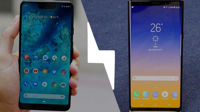 Google Pixel 3 XL vs Samsung Galaxy Note 9 : lequel est le meilleur smartphone ? – Comparatif