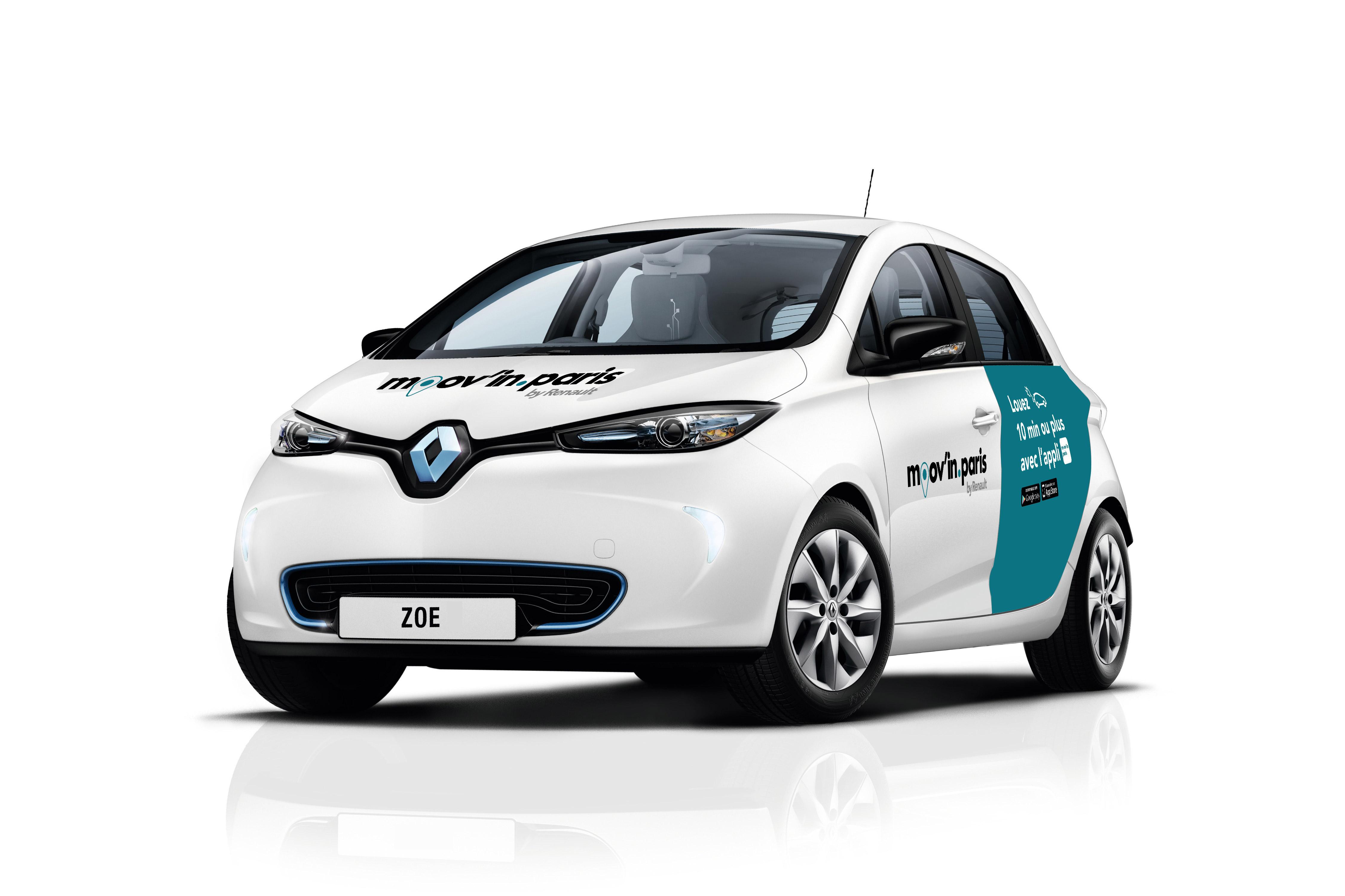 Pour succéder à Autolib', Renault déploie une flotte de voitures électriques en autopartage et libre service