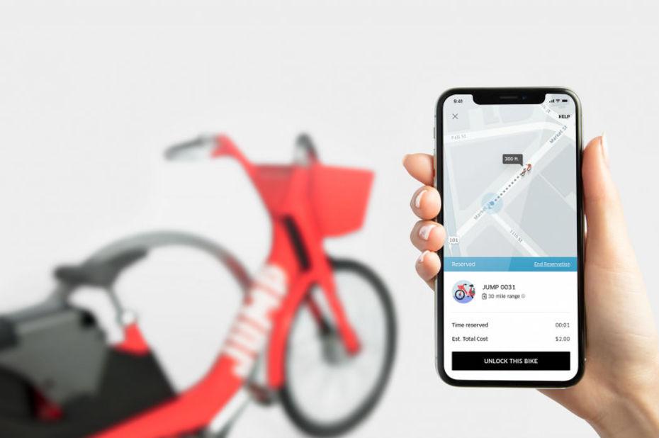 Pour contrer Vélib', Uber va lancer ses vélos électriques en libre service dès 2019