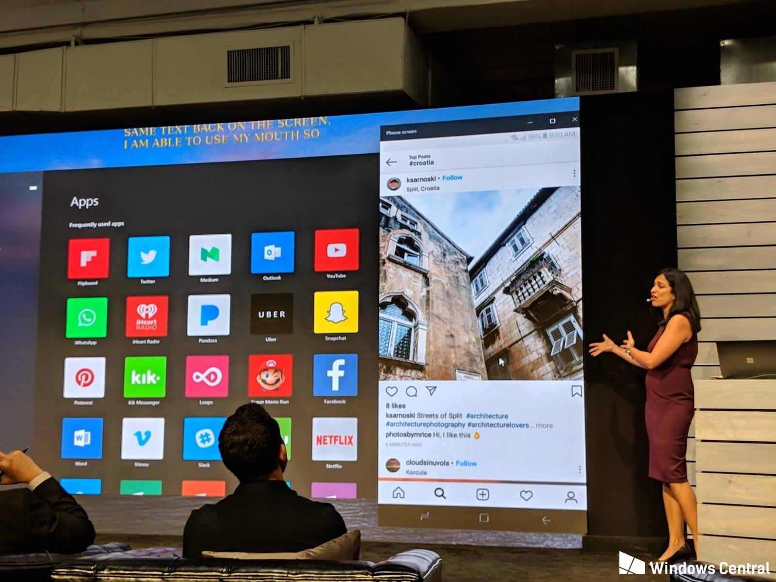 Votre smartphone Android directement dans votre PC Windows 10 ? Microsoft y travaille