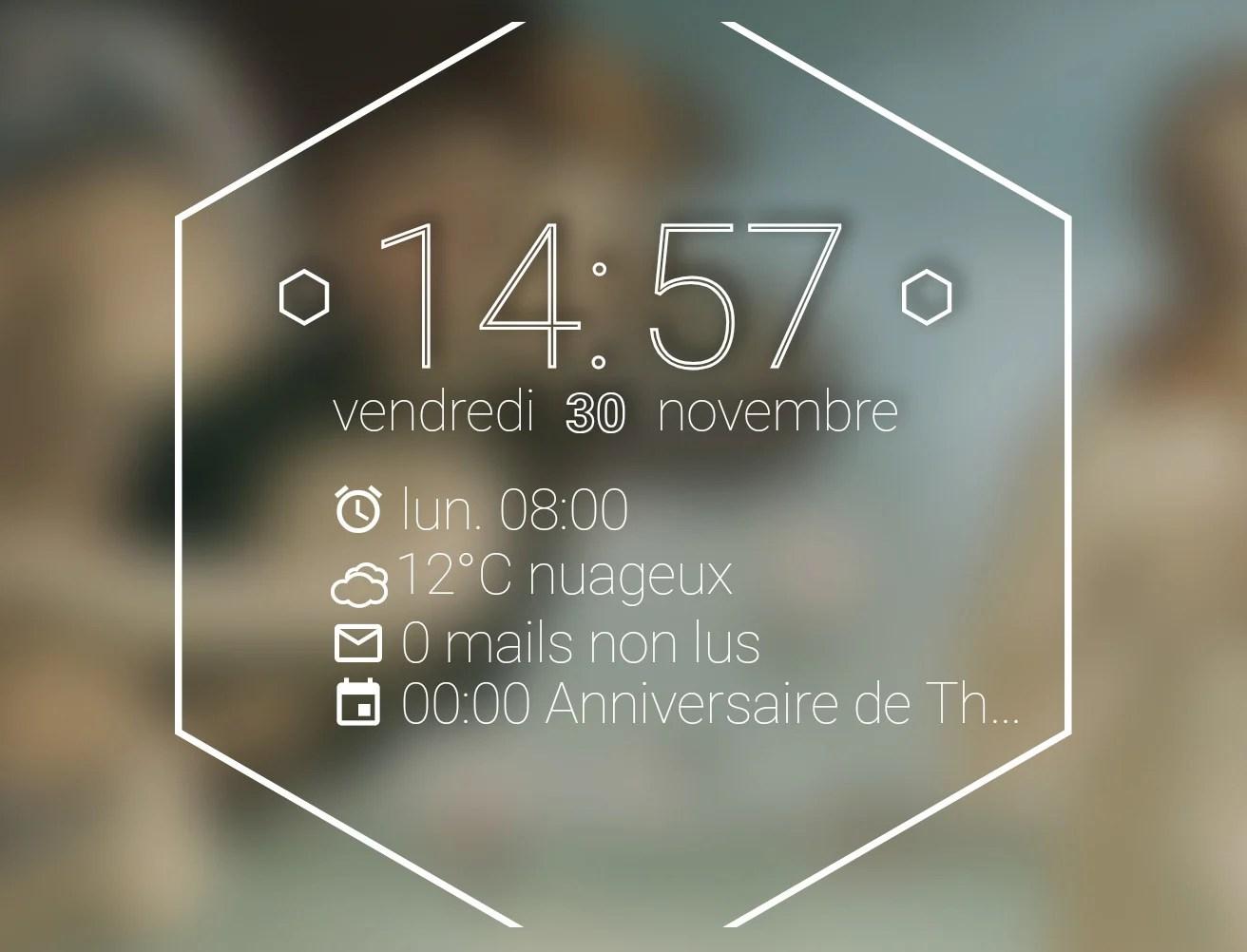 L'app de la semaine : j'ai enfin trouvé le widget parfait… normal, c'est moi qui l'ai créé