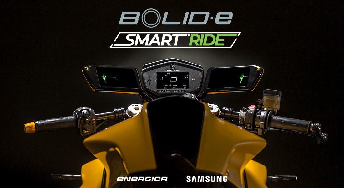 Bolid-E : une moto électrique truffée de technologies Samsung