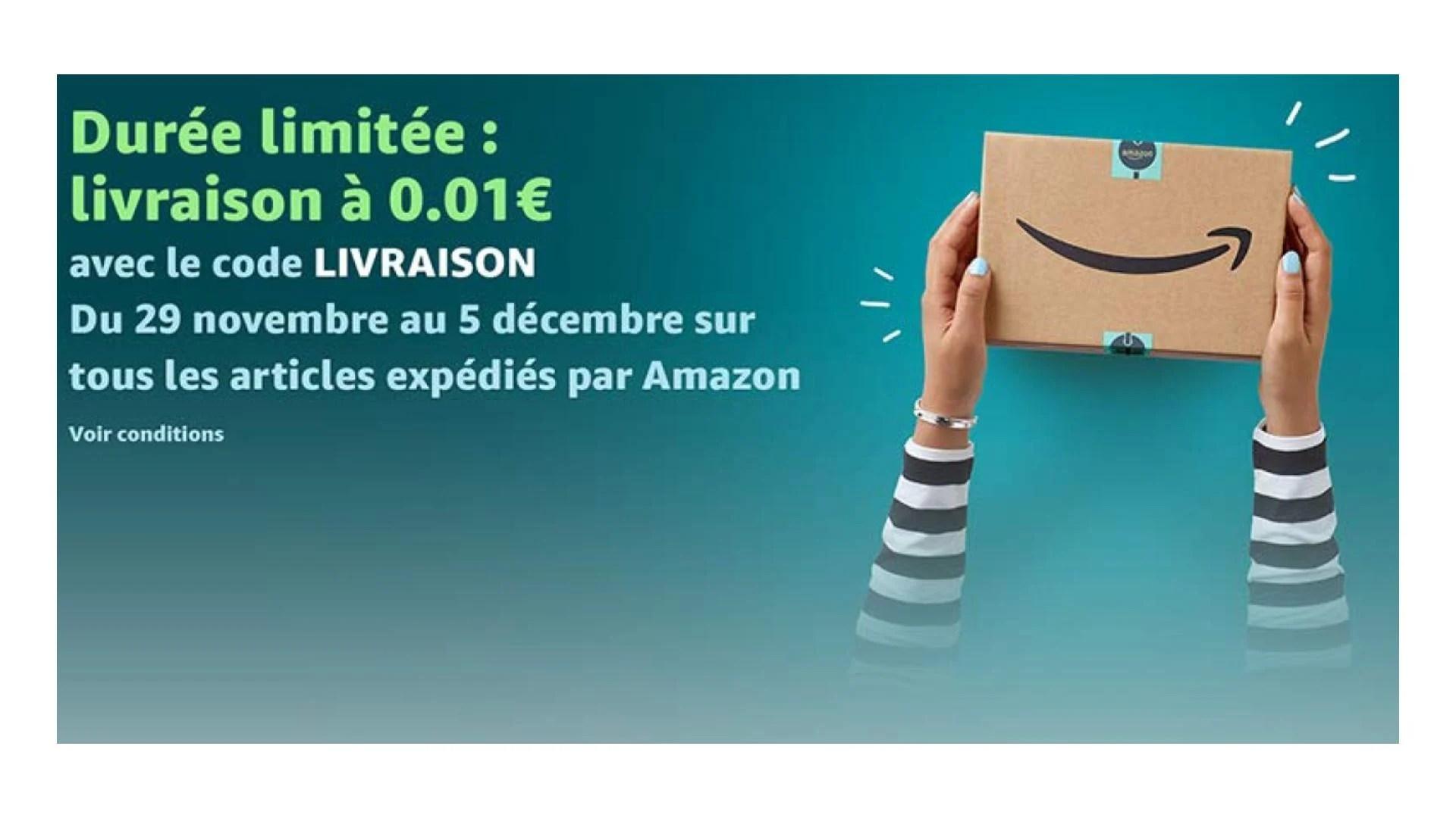 🔥 Derniers jours : la livraison rapide est à 0,01 euros sur Amazon pour tous les clients jusqu'au 5 décembre