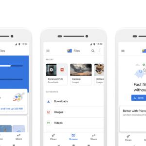 Google Files Go devient Files by Google et change d'interface
