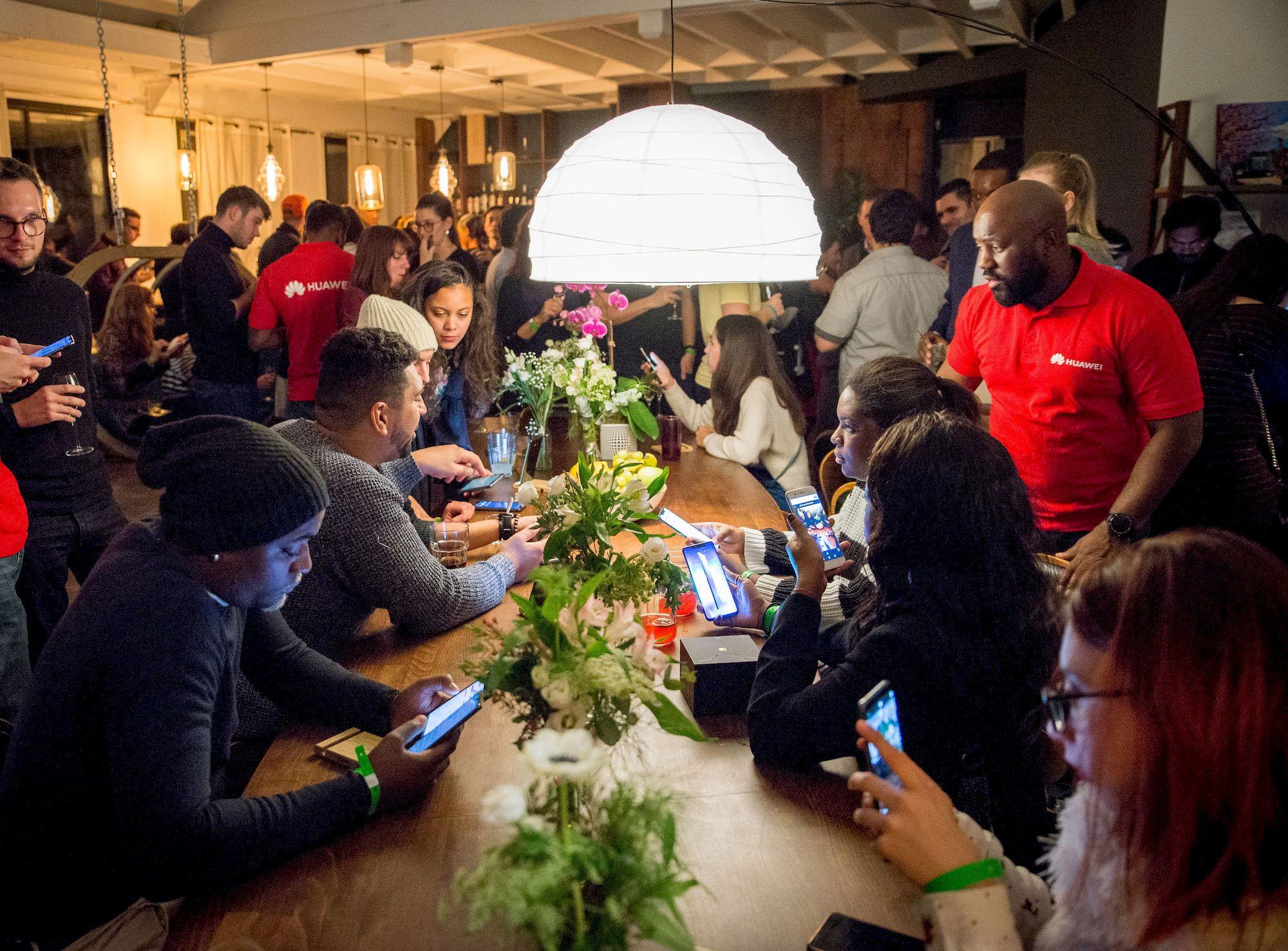 Première soirée et première réussite pour la Huawei Community : voici le résumé