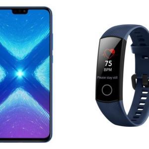 🔥 Bon plan : le Honor 8X avec un bracelet connecté Band 4 pour 249 euros sur Darty