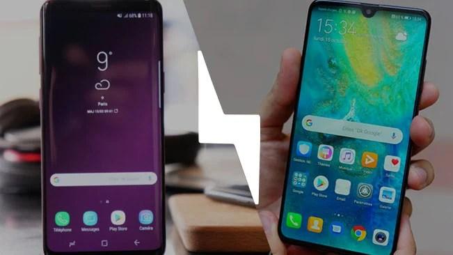 Huawei Mate 20 vs Samsung Galaxy S9 : lequel est le meilleur smartphone ? – Comparatif