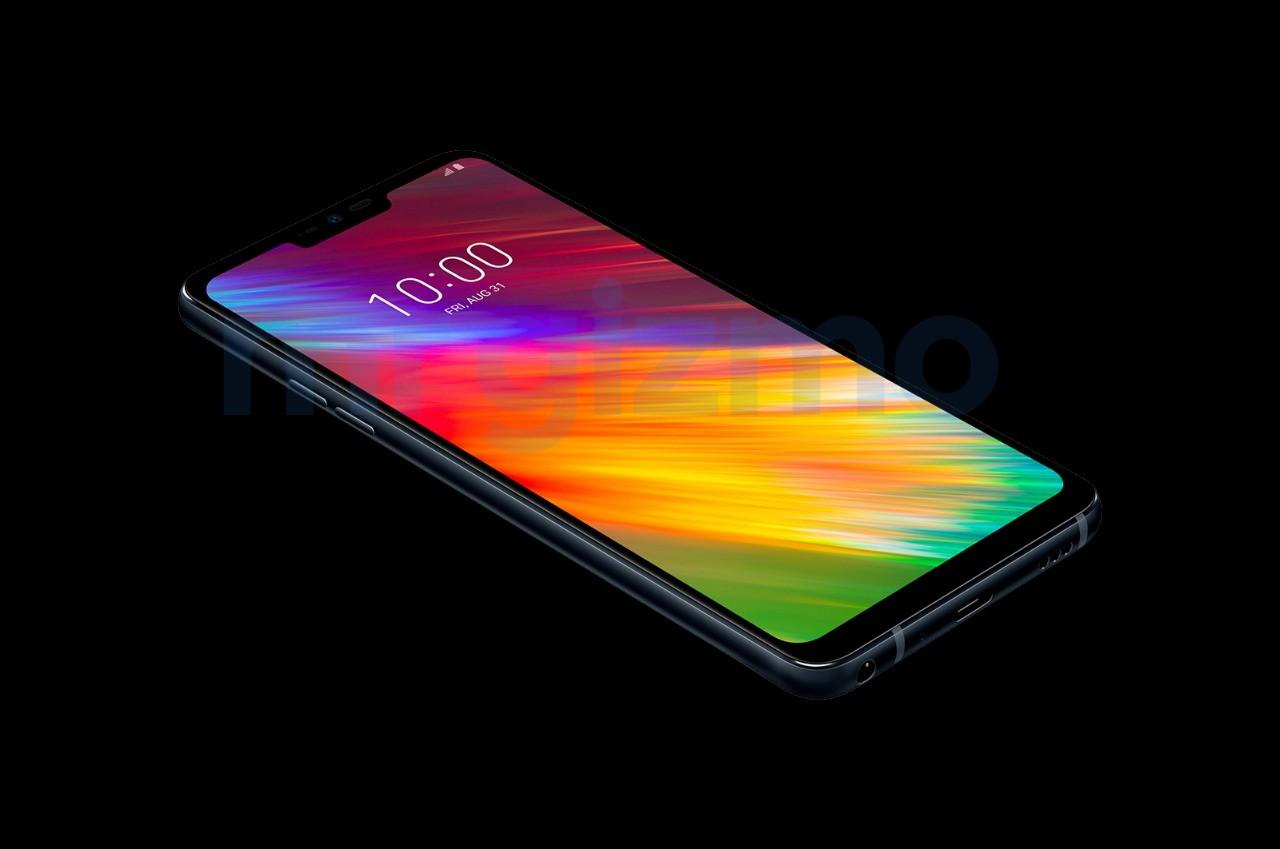 LG Q9 : de nouveaux rendus dévoilent un écran avec une encoche