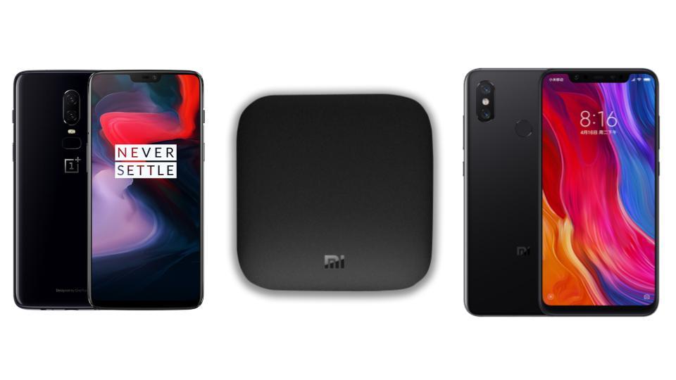 OnePlus 6 à 326 euros, Xiaomi Mi 8 à 299 euros et Xiaomi Mi Box à 49 euros sur GearBest