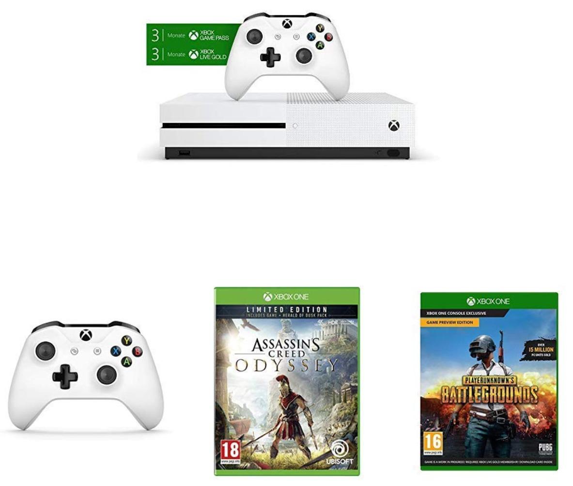 🔥 Cyber Monday : la Xbox One S (1 To) avec 2 manettes et 3 jeux à 225 euros chez Amazon