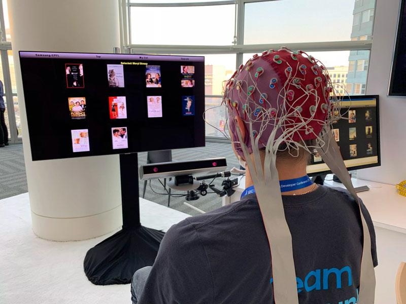Samsung veut vous laisser contrôler votre TV avec… votre cerveau