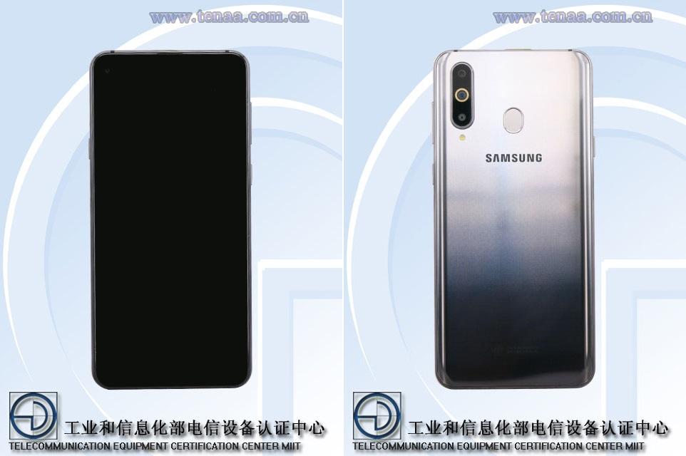 Samsung Galaxy A8s : des rendus et quelques caractéristiques dévoilés par la TENAA