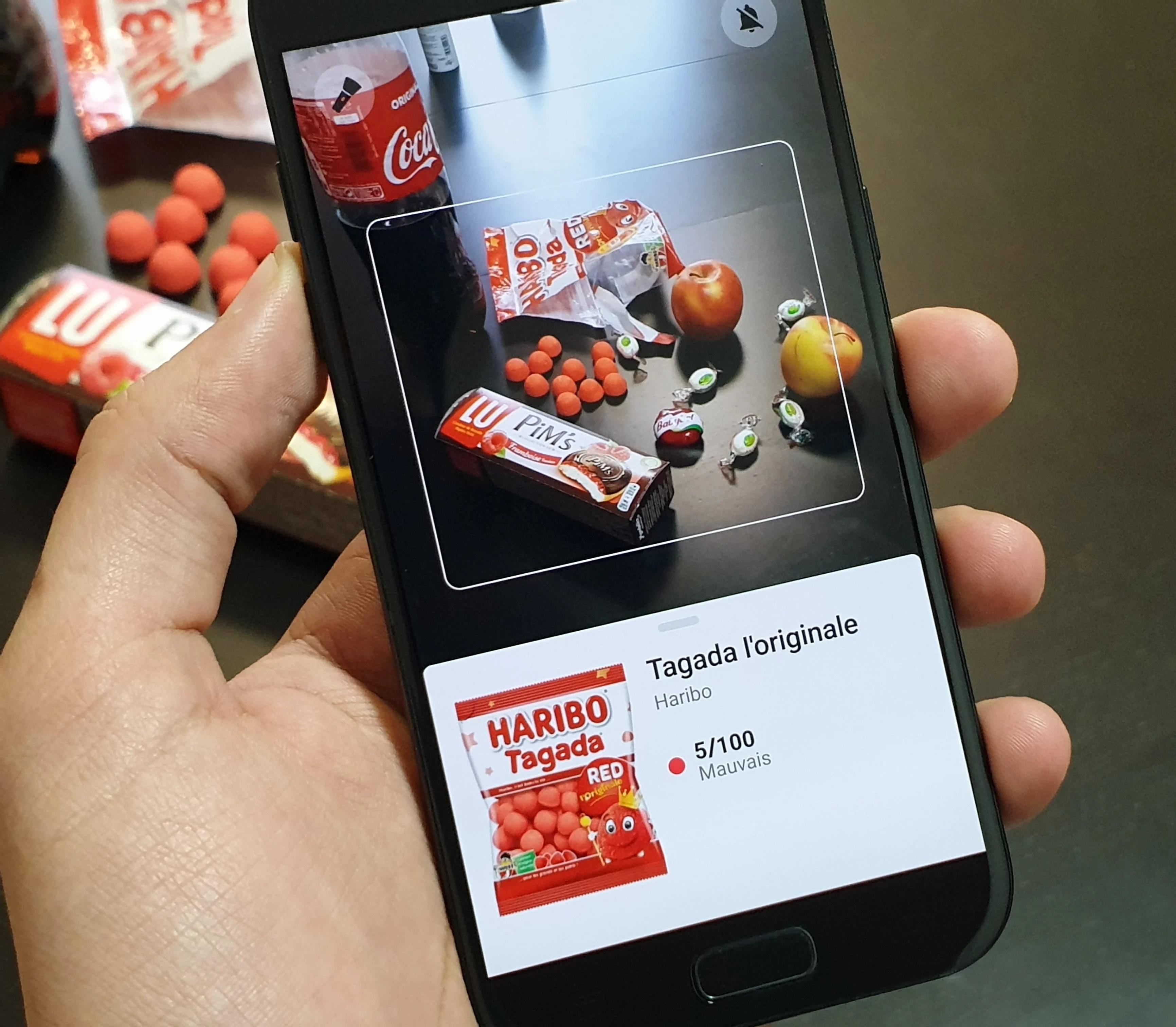 L'app de la semaine : je sais si je mange des cochonneries rien qu'en scannant les codes-barres des produits