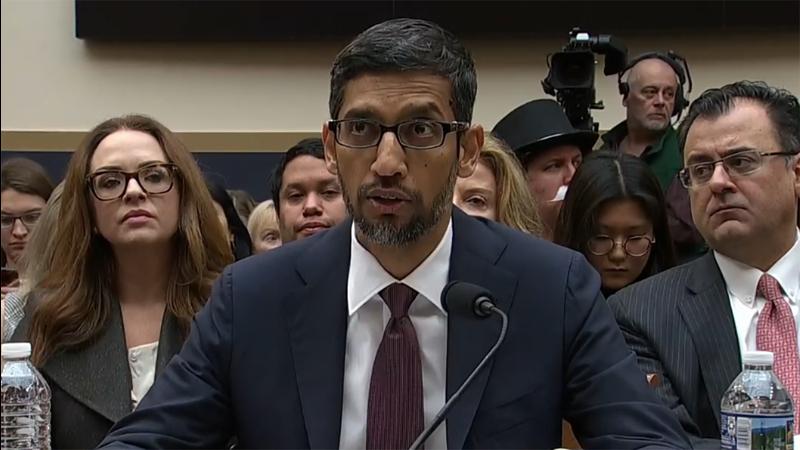 Non, Google ne fabrique pas d'iPhone et a dû le rappeler au Congrès américain