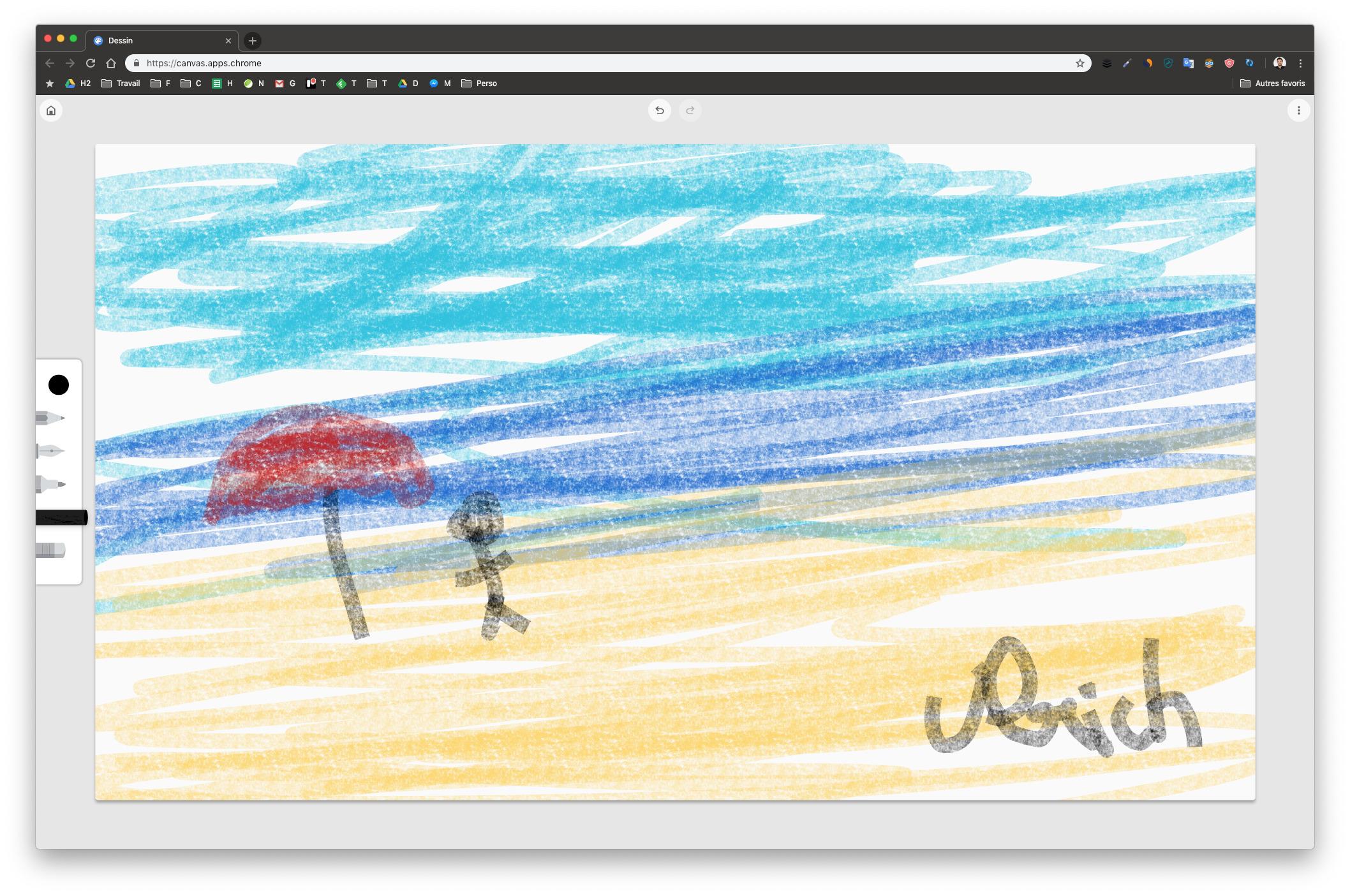 Google Canvas : un nouvel outil de dessin gratuit qui fonctionne dans Chrome