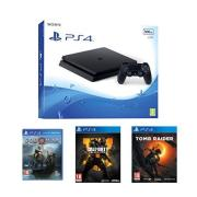 🔥 Bon Plan : pack PS4 + 3 jeux (God of War, Black Ops 4 et Tomb Raider) à 299 euros avec sur Amazon