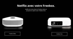 Freebox Delta et Freebox One : Free intègre l'abonnement Netflix dans son forfait fixe