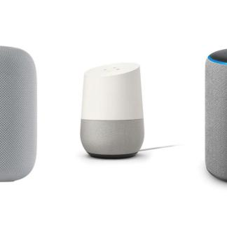 What are the best connected devices compatible with Google Assistant, Alexa or Siri?