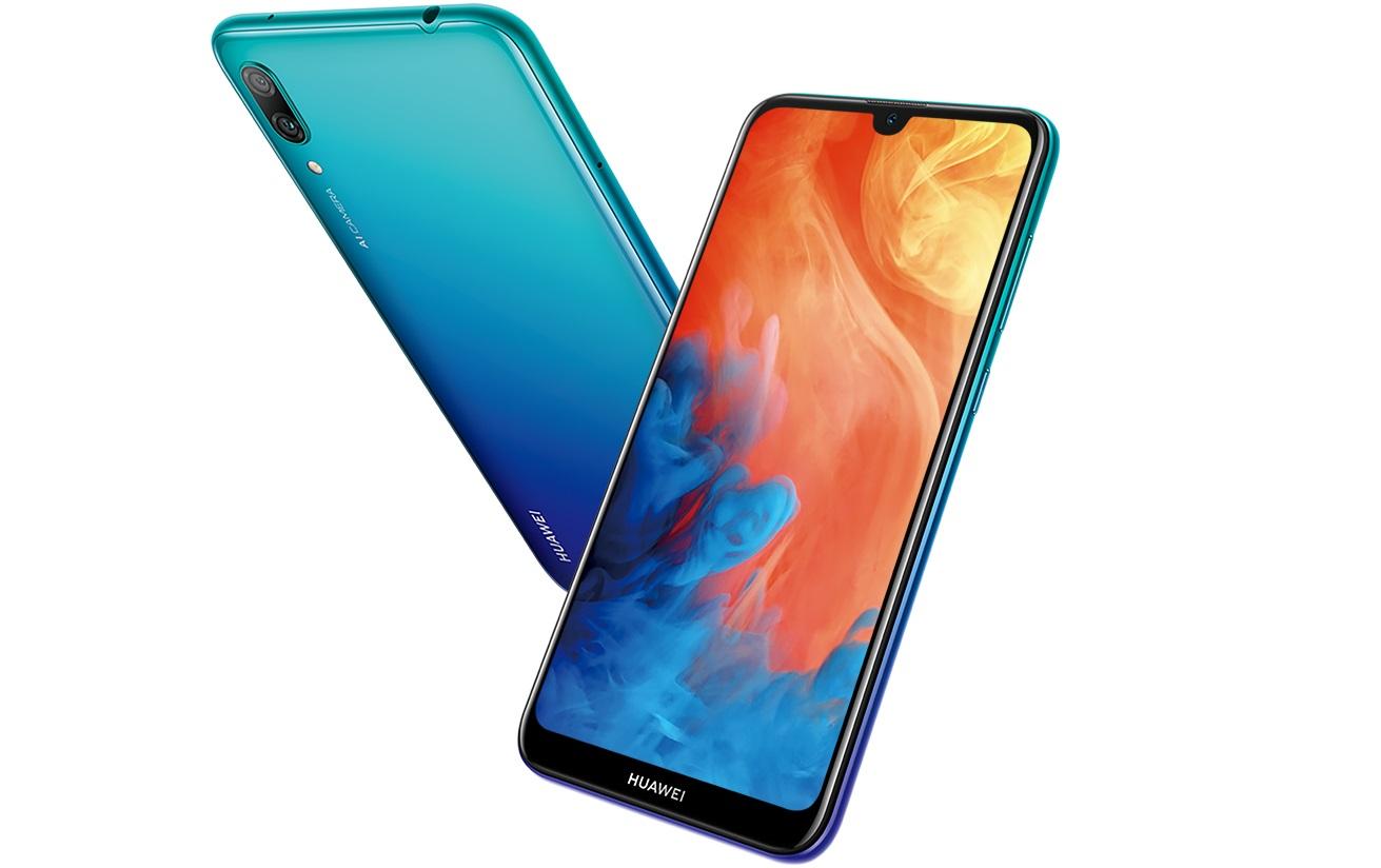 Huawei Y7 Pro 2019 : le smartphone pas cher avec une encoche en goutte d'eau est officialisé